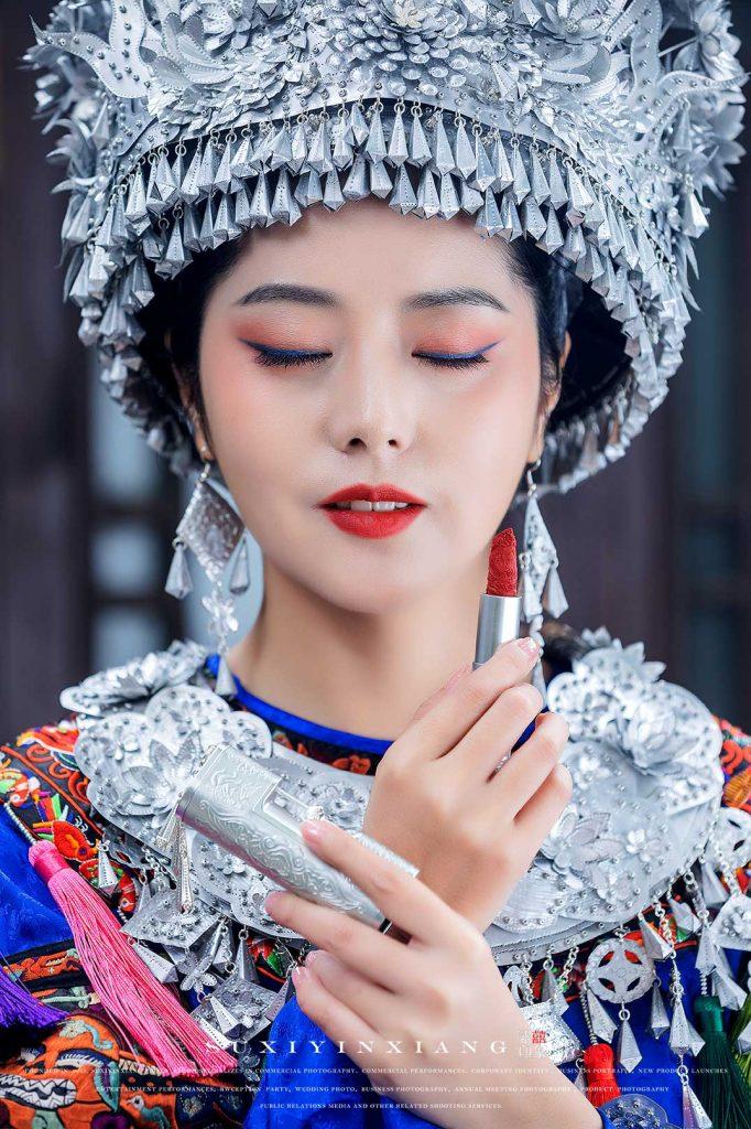 花西子彩妆商业广告拍摄