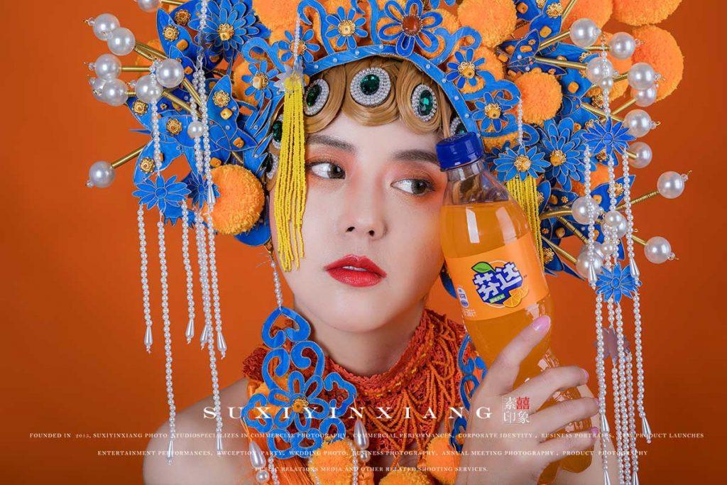 芬达饮品商业广告拍摄