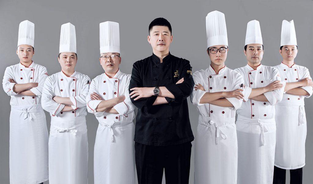 西餐厅厨师职业照形象照