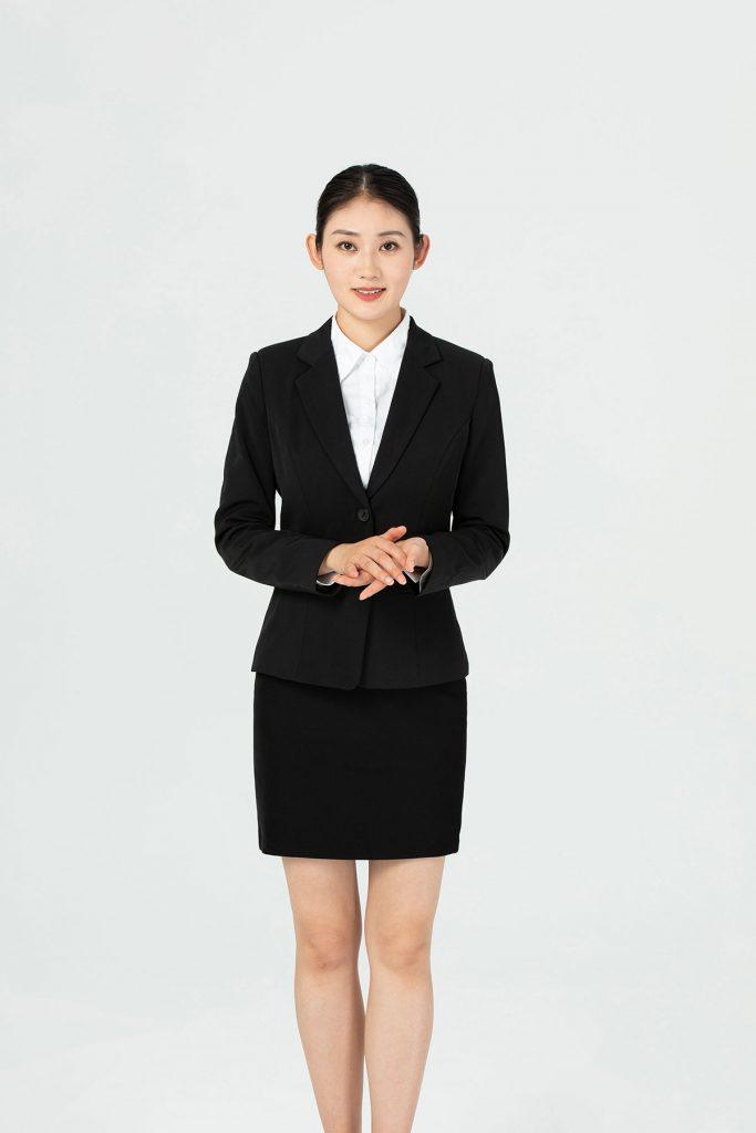 女性酒店服务员职业形象照