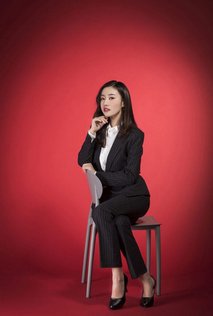 韩国知性职业女性形象照
