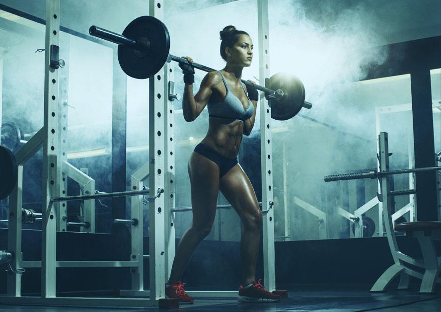 健身教练形象照片姿势 女士篇